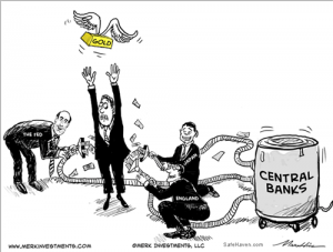 Central Banks at work