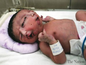 baby born genetically modified