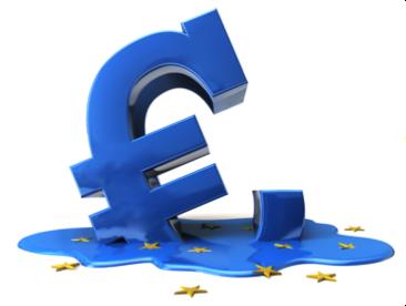 melting euro