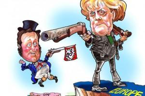 PEOPLE ONlY - Angela Merkel cartoon