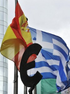 Spain and Greece