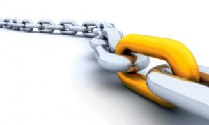 Long chain with single unique golden link