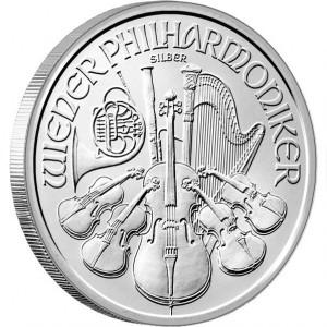 Silver coin Philharmoniker