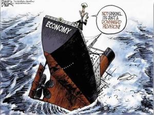 dollar collapse downward rev.