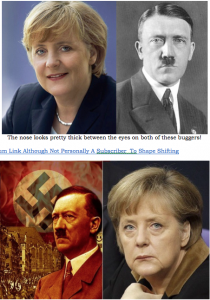 Merkel w daddy Hitler