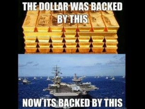 Petrodollar backed by war