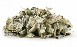End of unbacked paper money