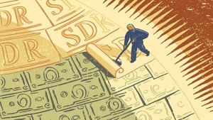 SDR global reserve currency