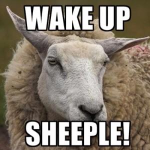 wake Up sheeple