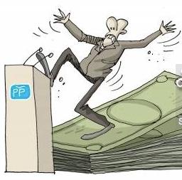 Corrupt Rajoy Spain