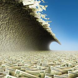 debt tidal-wave