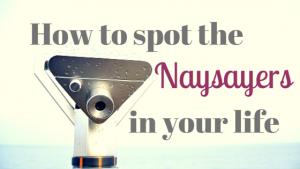 Naysayers spotting